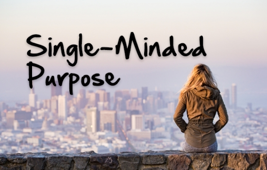 Single-Minded Purpose