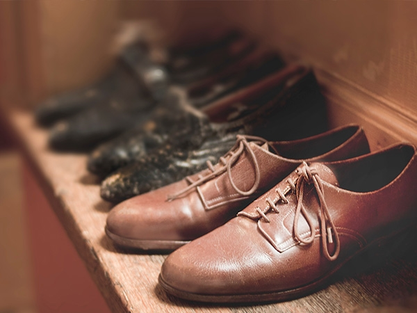Shoes by the door represent faithfulness to the long, slow process of investing in others.